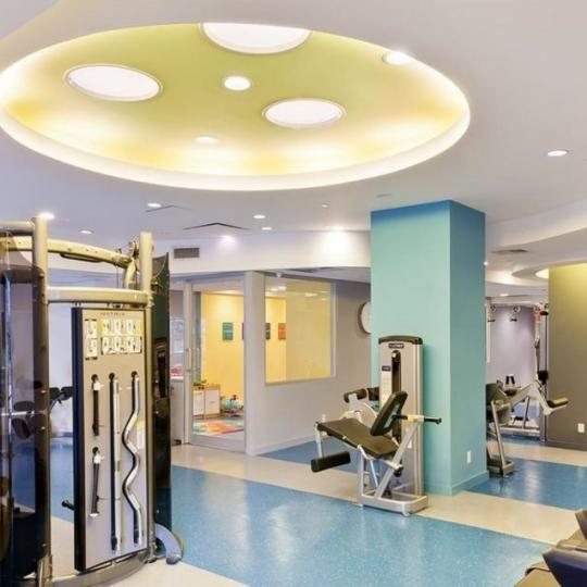 Fitness Center inside the building at 245 East 93rd Street