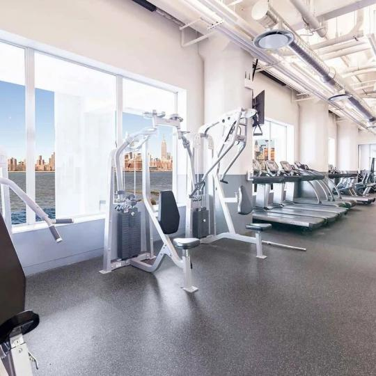 Fitness Center at Austin Nichols House in NYC - Apartments for sale
