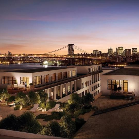 Stunning views from 184 Kent Avenue in Williamsburg