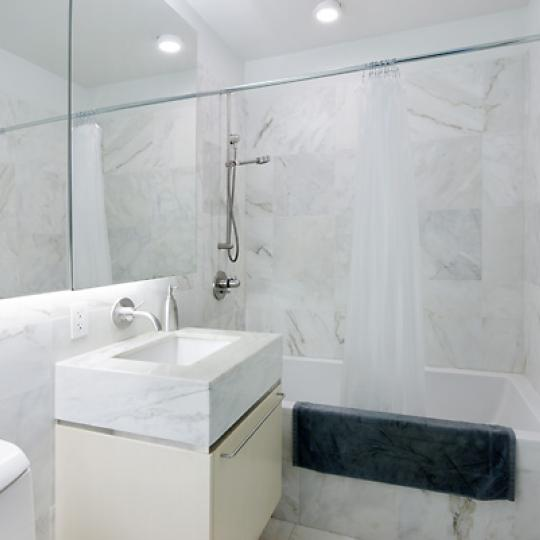 200 Chambers Street Bathroom - New Condos for Sale NYC