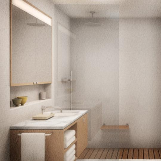 456 West 19th Street Bathroom – Manhattan New Condos