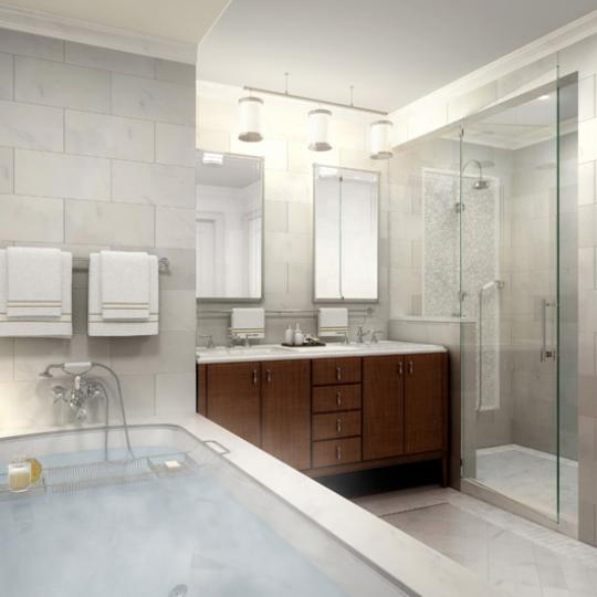 535 West End Avenue Condominiums – Bathroom
