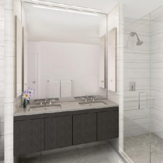 333 East 91st Street Manhattan – Bathroom at Azure