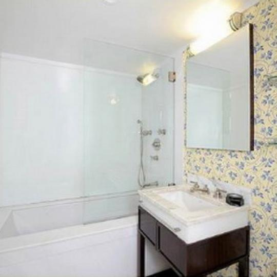 140 East 63rd Street New Construction Condominium Bathroom
