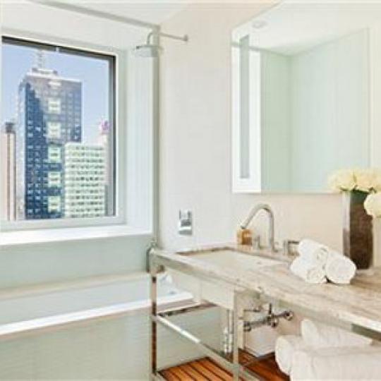 70 West 45th Street Bathroom – NYC Condos for Sale
