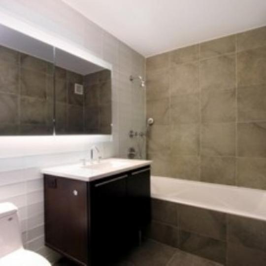 464 West 44th Street New Construction Condominium Bathroom