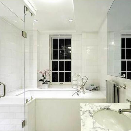 Devonshire House Bathroom - Greenwich Village NYC Condominiums