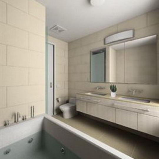 Landmark 17 Bathroom - NYC Condos