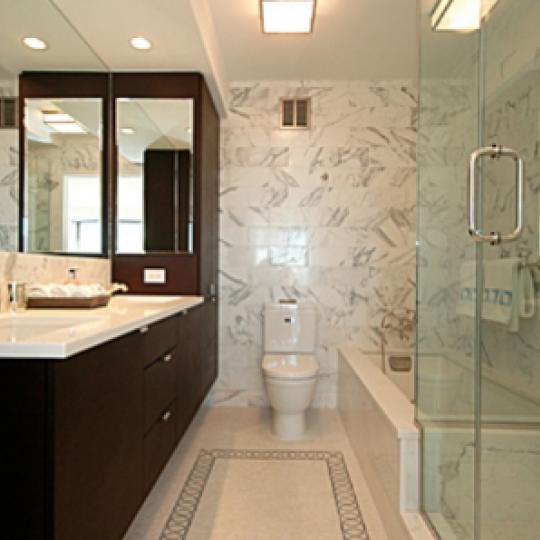 Morgan Court Bathroom - New Condos for Sale NYC