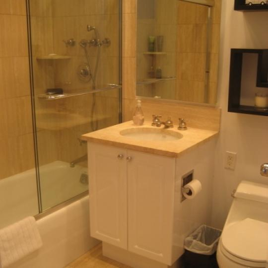 Trump Place Bathroom - Condominiums for Sale NYC