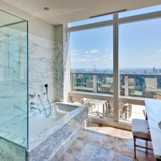 Residences at Mandarin Oriental Bathroom - New Condos for Sale NYC