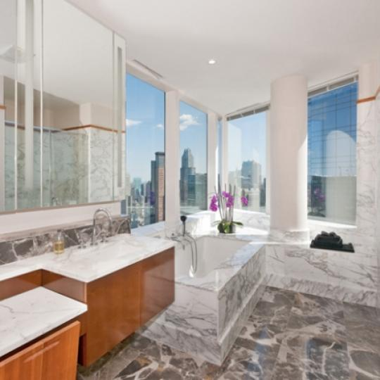 80 Columbus Circle Bathroom - NYC Condos for Sale