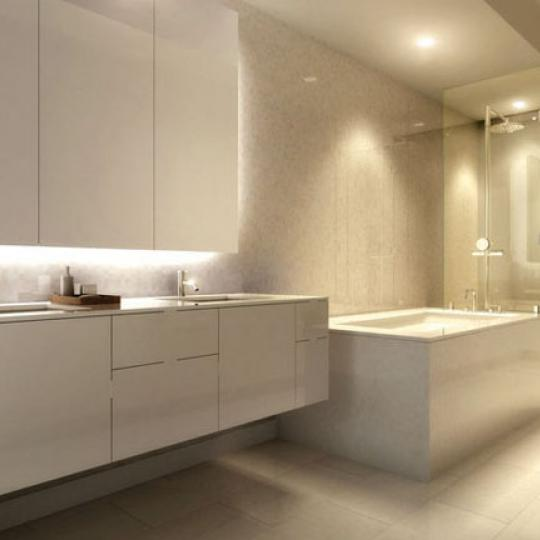 425 West 53rd St NYC Condos – Bathroom at The Dillon