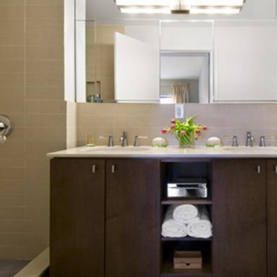 2110 Frederick Douglass Boulevard NYC Condos – Bathroom at The Douglass