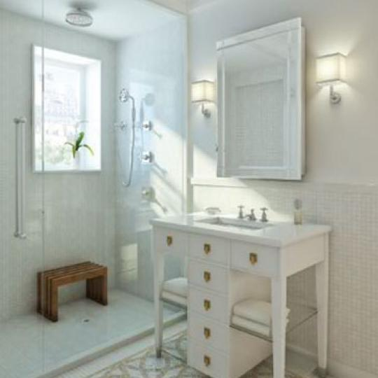 The Merritt House Bathroom - Condominiums for Sale NYC