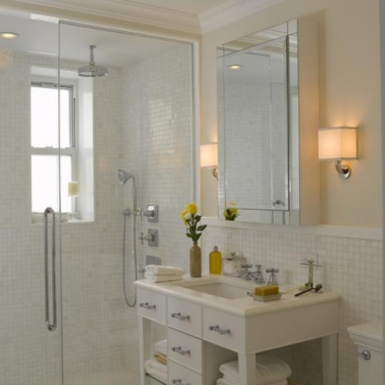167 East 82nd Street Condominium Bathroom
