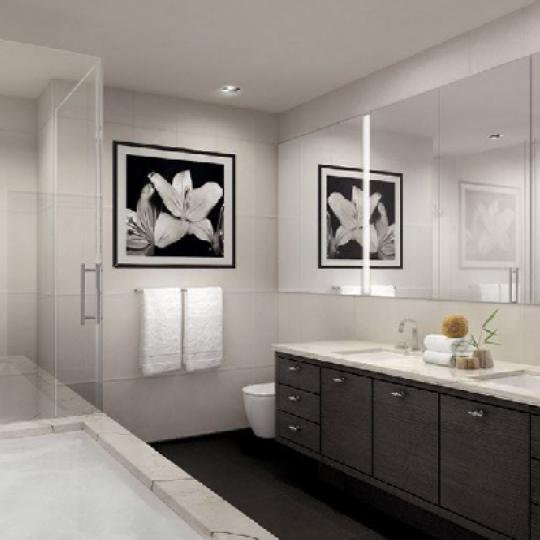 The Story House New Construction Building Bathroom – NYC Condos