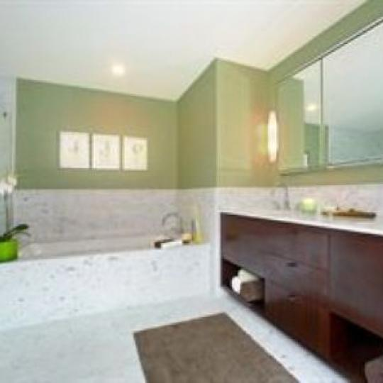 415 Greenwich Street NYC Condos - Bathroom at Tribeca Summit
