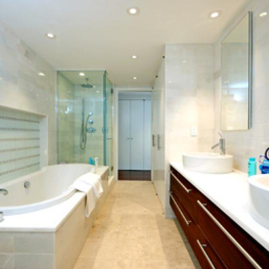 16 Warren Street NYC Condos  Bathroom at Tribeca Townhomes