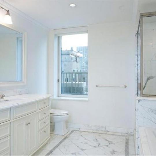 Trump Park Avenue Bathroom - Upper East Side NYC Condominiums