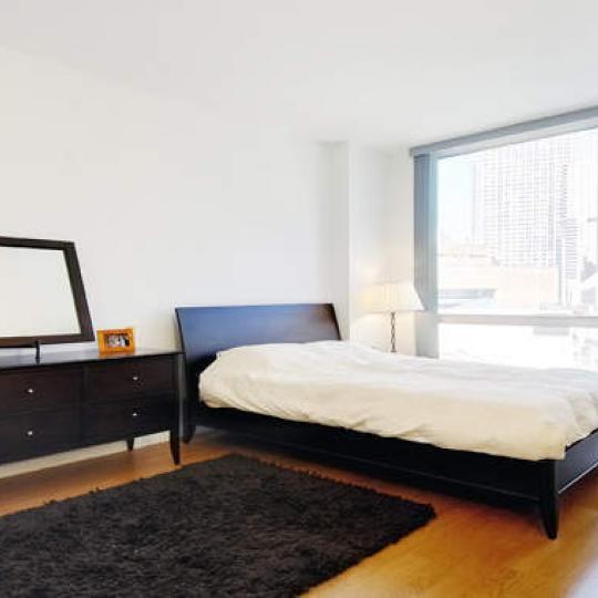 200 Chambers Street New Construction Condominium Bedroom