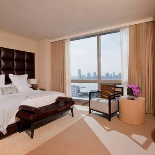 Trump Soho Condominium Hotel Bedroom - New Condos for Sale NYC