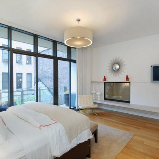 25 Bond Street Bedroom - NoHo NYC Condominiums