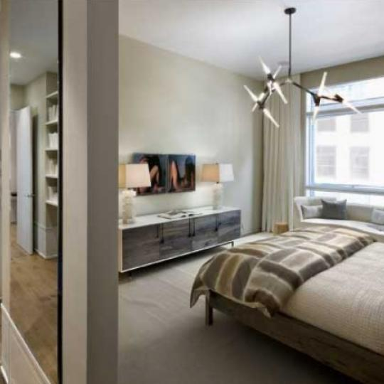 41 Bond Street New Construction Condominium Bedroom