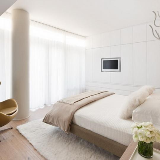 520 West 19th Street Manhattan – Bedroom at 520 West Chelsea