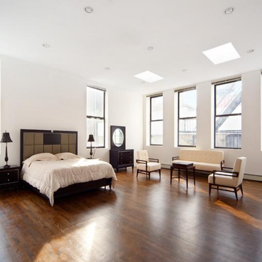 56 East 13th Street New Construction Building Bedroom – NYC Condos