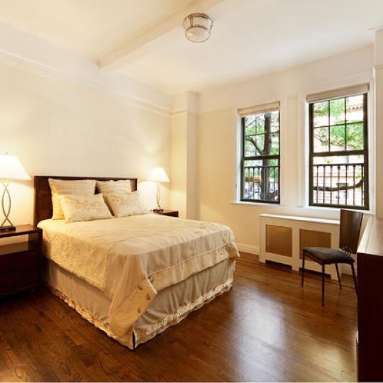 595 West End Avenue New Construction Condominium Bedroom