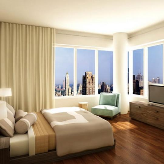 255 East 74th Street New Construction Condominium Bedroom