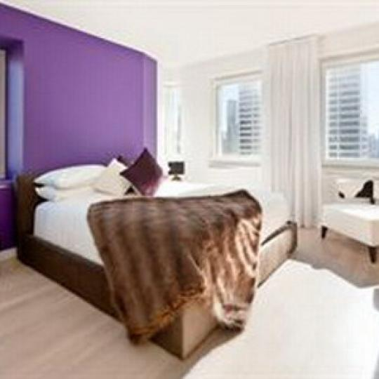 Cassa NYC Bedroom - Clinton NYC Condominiums