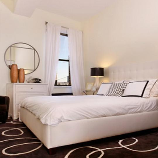 Deco Lofts Condominiums – Bedroom