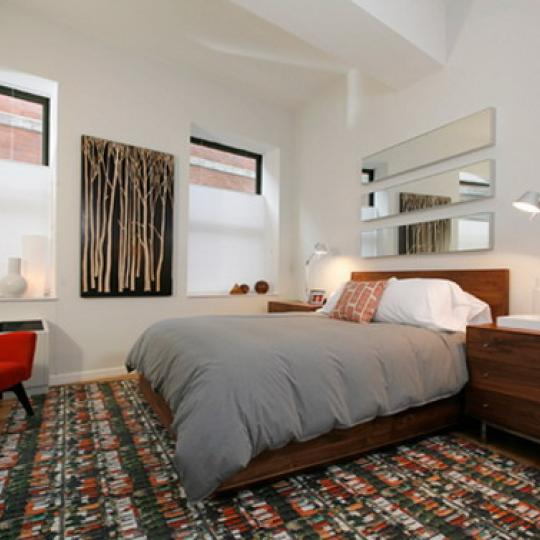 Deco Lofts Bedroom – Condominiums for Sale NYC