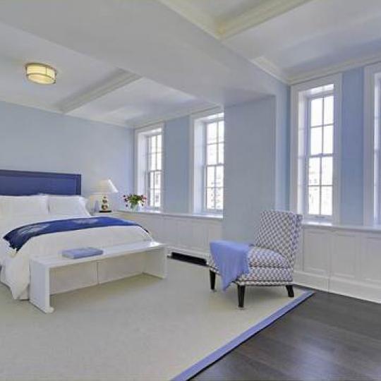 28 East 10th Street Manhattan – Bedroom at Devonshire House