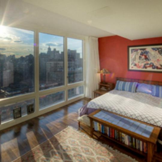 Gramercy Starck Bedroom - Gramercy Park NYC Condominiums