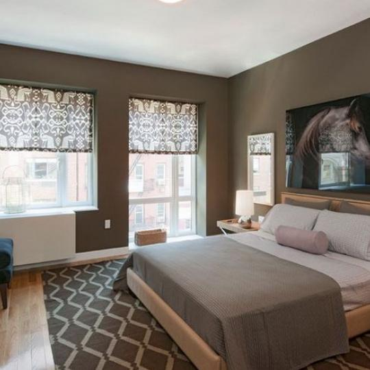 800 Tenth Avenue NYC Condos – Bedroom at Griffin Court