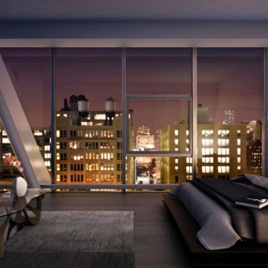 515 West 23rd Street Bedroom – Manhattan New Condos