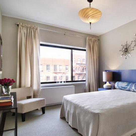 The Douglass New Construction Building Bedroom – NYC Condos
