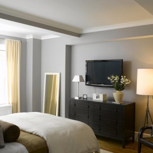 The Merritt House Bedroom - Manhattan Condos for Sale