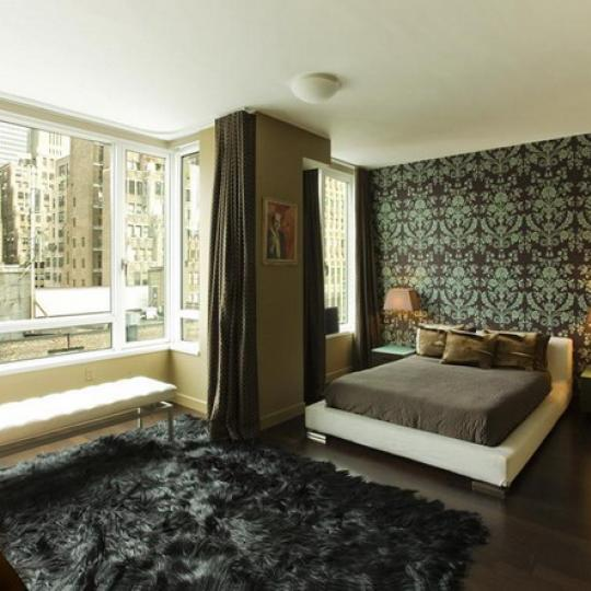 261 West 28th Street Manhattan – Bedroom at The Onyx