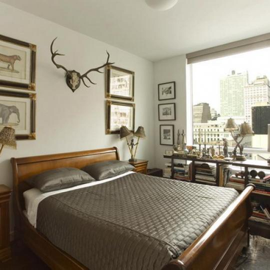 261 West 28th Street NYC Condos – Bedroom at The Onyx