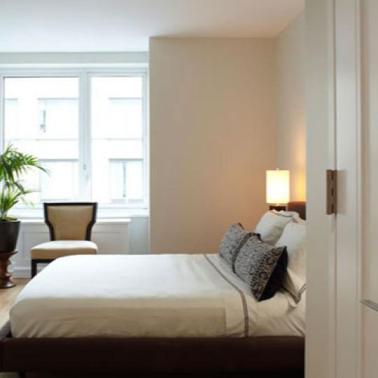 The Rushmore New Construction Building Bedroom - NYC Condos