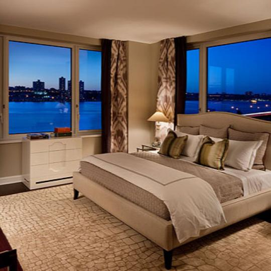 80 Riverside Boulevard Bedroom - NYC Condos for Sale