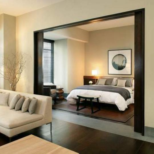 The Setai Bedroom - Financial District  NYC Condominiums