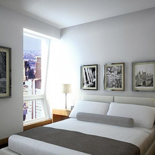 400 Fifth Avenue Bedroom – Manhattan Condos for Sale