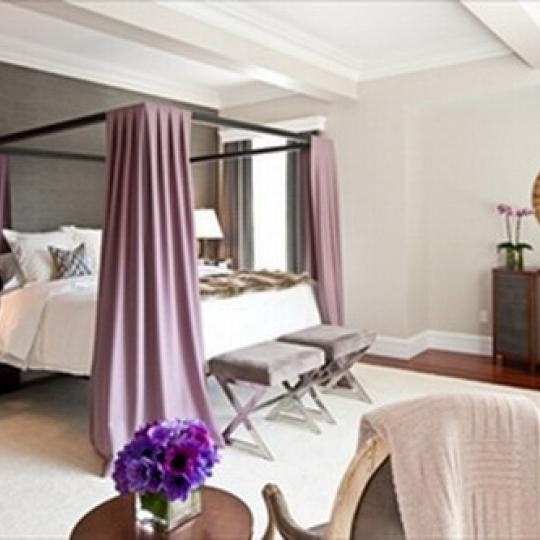 The Stanhope Bedroom - Upper East Side NYC Condominiums