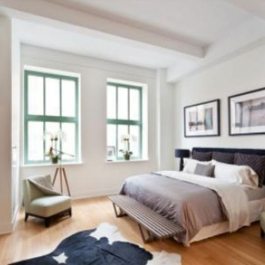 415 Greenwich Street Bedroom - NYC Condos for Sale
