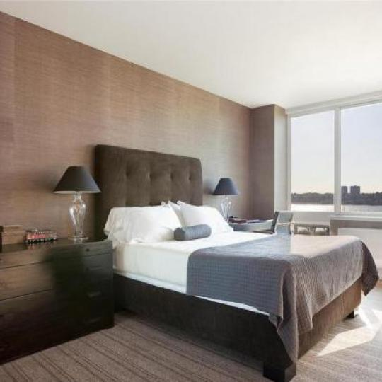 Trump Place Bedroom - Upper West Side NYC Condominiums